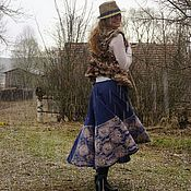 """Одежда ручной работы. Ярмарка Мастеров - ручная работа Юбка """"Кружева"""". Handmade."""