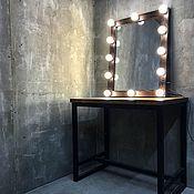 Для дома и интерьера handmade. Livemaster - original item Make-up mirror ESPRESSO.. Handmade.
