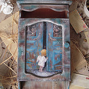 """Для дома и интерьера ручной работы. Ярмарка Мастеров - ручная работа """"Сахлис Ангелози""""-  ключница. Handmade."""