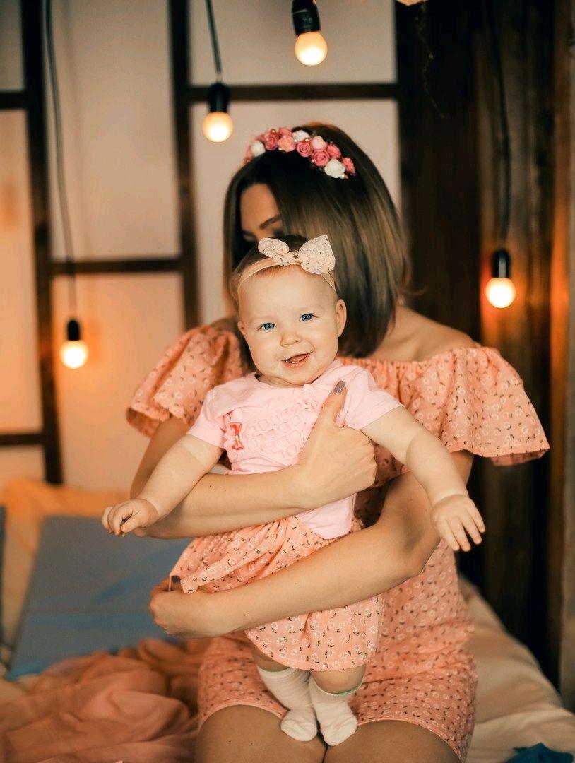 Комплект для мамы и дочки, Платья, Вологда,  Фото №1