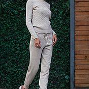 Одежда handmade. Livemaster - original item Warm suit Angora Milk. Handmade.