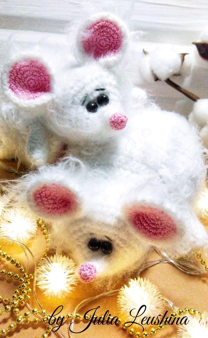 Игрушка-вывернушка / перевёртыш вязаная крючком мышка/свинка, Мягкие игрушки, Санкт-Петербург,  Фото №1