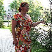 """Одежда ручной работы. Ярмарка Мастеров - ручная работа Платье """"Цветочное"""". Handmade."""