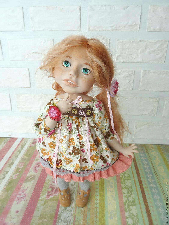 Как сделать большую куклу из глины