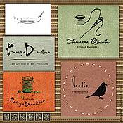 Дизайн и реклама ручной работы. Ярмарка Мастеров - ручная работа Логотип для мастера- портного, мастера по вышивке №2. Handmade.