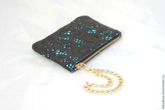 Для телефонов ручной работы. Ярмарка Мастеров - ручная работа. Купить Чехол для IPhone 5 кружево на голубом арт. 295. Handmade.