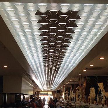 """Дизайн и реклама ручной работы. Ярмарка Мастеров - ручная работа Дизайнерские декоративные потолки """"Волнистый потолок"""" Wave ceiling. Handmade."""