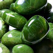 Материалы для творчества handmade. Livemaster - original item Jade(extra tumbling)province of British Columbia(Vancouver,Canada). Handmade.