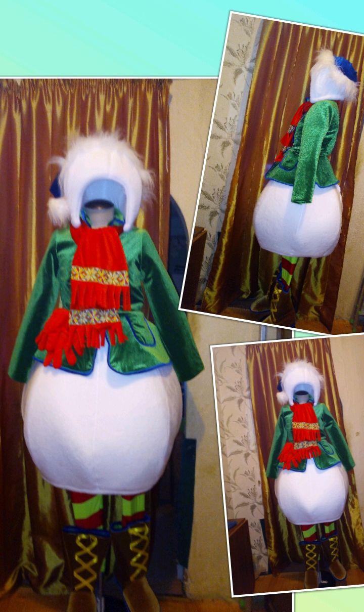 "костюм""снеговик"", Костюмы, Санкт-Петербург,  Фото №1"