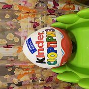Подарки к праздникам ручной работы. Ярмарка Мастеров - ручная работа Большое яйцо Киндер (упаковка д/подарка). Handmade.