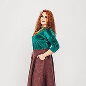 Одежда ручной работы. Ярмарка Мастеров - ручная работа Длинная юбка. Handmade.