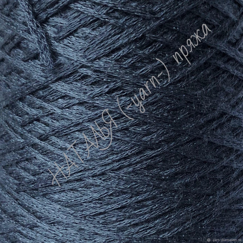 Пряжа Кашемир шнурок SOFFIO серо-голубой – купить на Ярмарке Мастеров – KLBXYRU | Пряжа, Санкт-Петербург