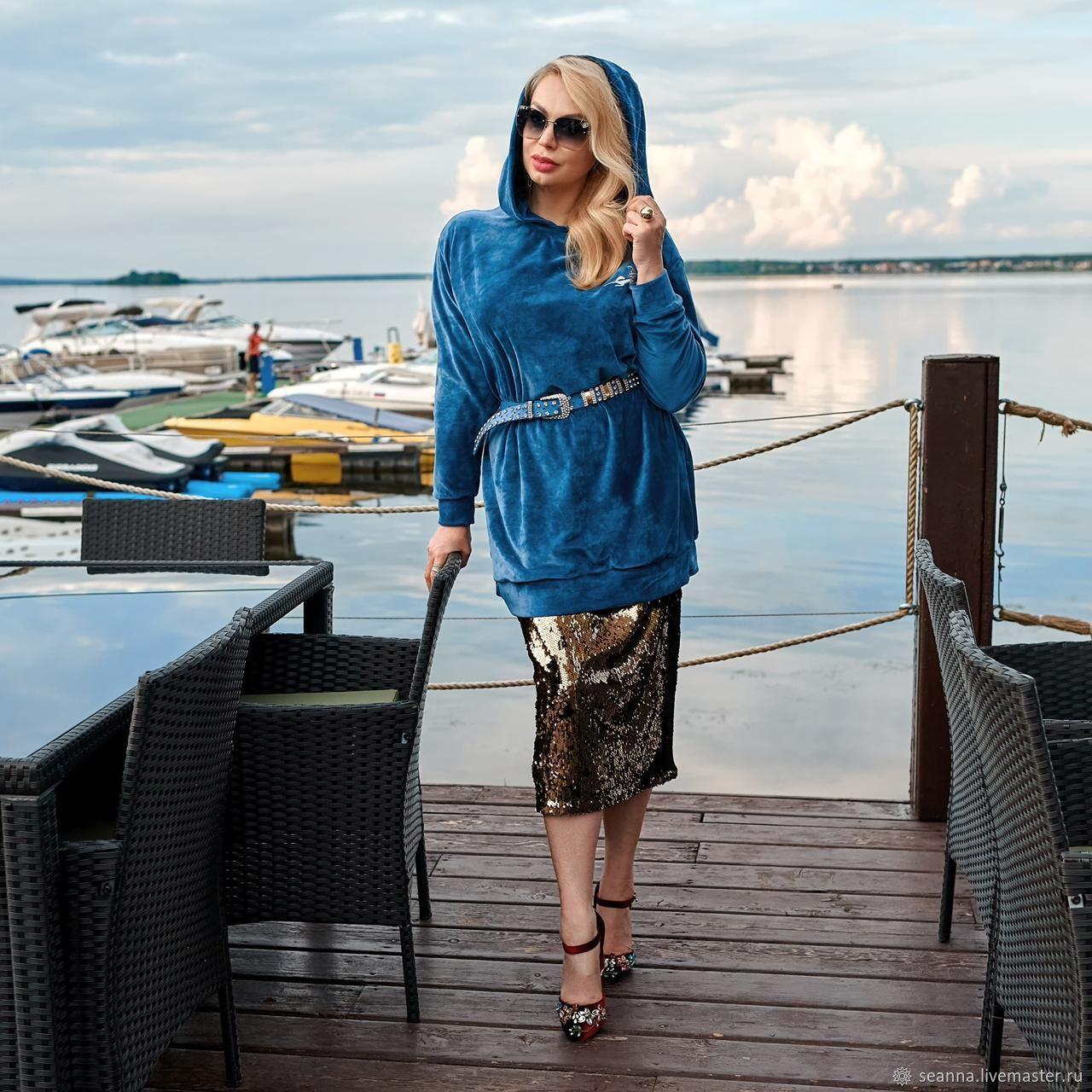 Худи Ниагара на подкладке, Туники, Воронеж,  Фото №1