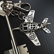 Аксессуары handmade. Livemaster - original item Key chain Airplane key chain for bag. Handmade.