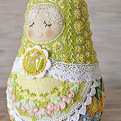 Куклы и игрушки handmade. Livemaster - original item matryoshka SUMMER. Handmade.