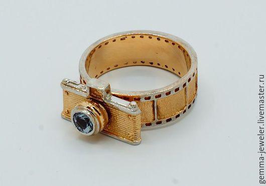 Украшения для мужчин, ручной работы. Ярмарка Мастеров - ручная работа. Купить Золотое кольцо 200 лет фотографии. Handmade. танзанит