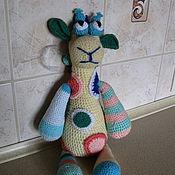 Куклы и игрушки ручной работы. Ярмарка Мастеров - ручная работа Жираф-Лоло. Handmade.