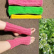 Носки ручной работы. Ярмарка Мастеров - ручная работа Носки для йоги - разные цвета. Handmade.
