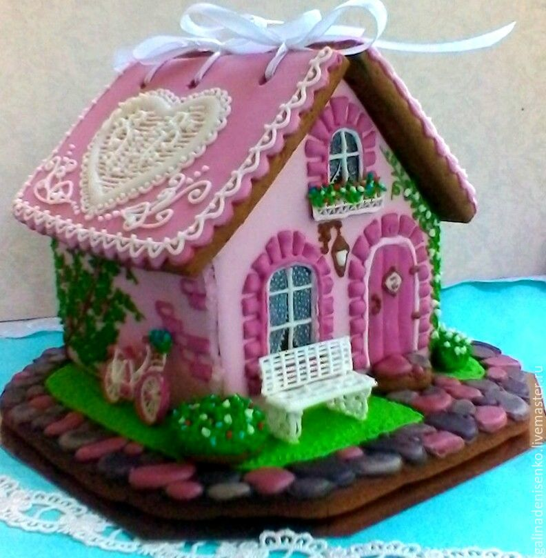 Gingerbread house wedding. gingerbread box, Gingerbread Cookies Set, Rostov-on-Don,  Фото №1