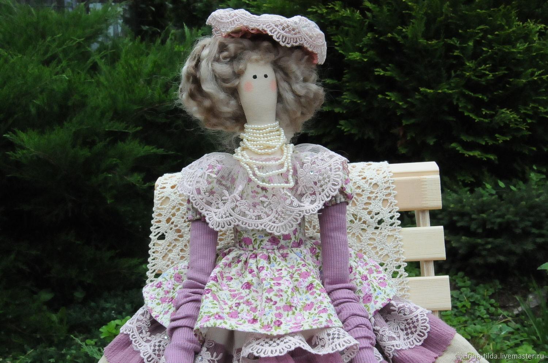 Кукла в стиле тильда - Лиза, Куклы Тильда, Уфа,  Фото №1