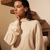 Одежда handmade. Livemaster - original item Lux cashmere sweater. Handmade.