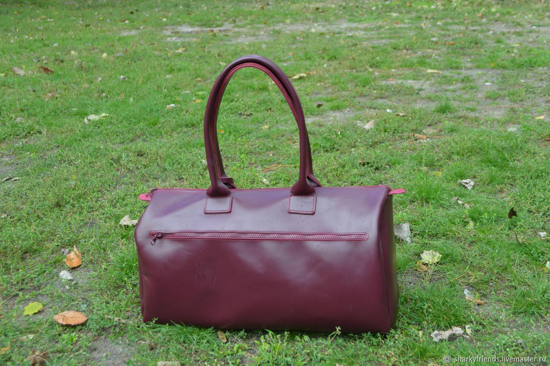 ee3d551ae540 Купить Брендовый кожаный саквояж ' Женские сумки ручной работы. Брендовый  кожаный саквояж 'Италия' из натуральной кожи.