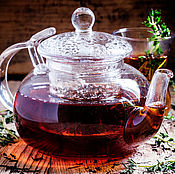 Подарки к праздникам handmade. Livemaster - original item Ivan-tea with thyme. Handmade.