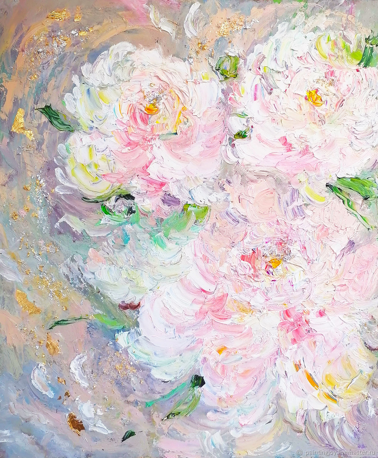 Painting 'Petal of tenderness' 50/60cm, Pictures, Stavropol,  Фото №1