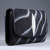 Сумки и аксессуары handmade. Livemaster - original item Wallet women leather Stingray IMC0024A9. Handmade.
