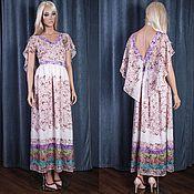 Одежда handmade. Livemaster - original item Dress chiffon long floor-