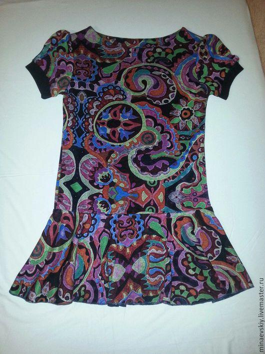 Одежда для девочек, ручной работы. Ярмарка Мастеров - ручная работа. Купить платье повседневное     4. Handmade. Комбинированный, платье для девочки
