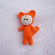 Куклы и игрушки ручной работы. Ярмарка Мастеров - ручная работа Пупс в костюме лисенка. Handmade.