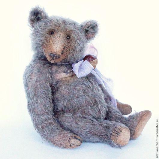 Мишки Тедди ручной работы. Ярмарка Мастеров - ручная работа. Купить Йенс. Handmade. Голубой, old style bear, шплинты