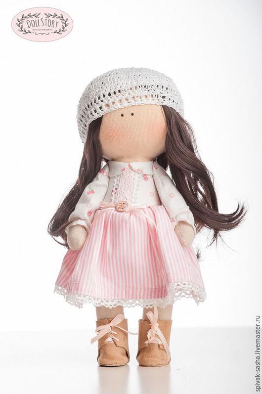"""Куклы тыквоголовки ручной работы. Ярмарка Мастеров - ручная работа. Купить Интерьерная кукла """"Мишель"""". Handmade. Комбинированный, кукла"""