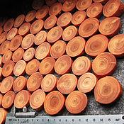 Материалы для творчества ручной работы. Ярмарка Мастеров - ручная работа Спил лиственницы необработанный с отпаренной корой для поделок. Handmade.