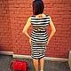 """Платья ручной работы. SALE Платье """"Полосатый рейс"""". Nastasia Sabio. Интернет-магазин Ярмарка Мастеров. Летнее платье"""