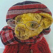 """Куклы и игрушки ручной работы. Ярмарка Мастеров - ручная работа Тедди мишка """"Семен Семеныч"""". Handmade."""
