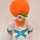 """Человечки ручной работы. Кукла """"Мед сестричка......медсестра"""" (№3) Скульптурный текстиль. mastersofi  (Любовь). Ярмарка Мастеров. Кукла интерьерная"""