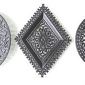 Винтаж handmade. Livemaster - original item Cast iron Collectible Plate business card Holder decor. Handmade.