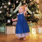 Платья ручной работы. Ярмарка Мастеров - ручная работа Платья: Новогоднее платье. Handmade.