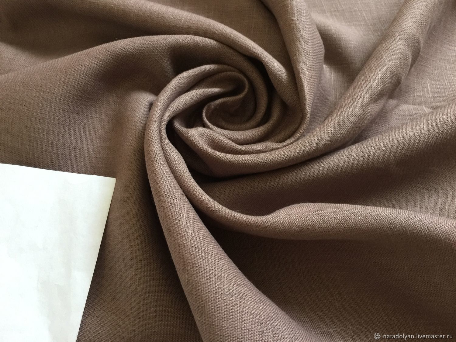 Sewing handmade. Livemaster - handmade. Buy Linen FLAP 100% suit' Cocoa', the length of the cuts in the description.