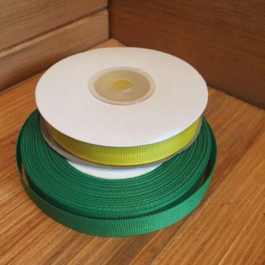 Шитье ручной работы. Ярмарка Мастеров - ручная работа. Купить Репсовая однотонная лента 12 мм. Handmade. Репсовая лента