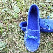 Обувь ручной работы handmade. Livemaster - original item Moccasin felted for home. Handmade.