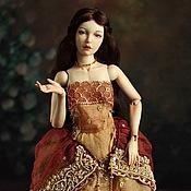 Куклы и игрушки ручной работы. Ярмарка Мастеров - ручная работа Шарнирная фарфоровая кукла Полина. Handmade.