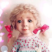 "Dolls handmade. Livemaster - original item dolls ""Girl and horse"". Handmade."
