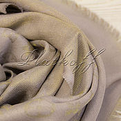 Аксессуары handmade. Livemaster - original item Handkerchief monogramm from Louis Vuitton fabric soft purple. Handmade.
