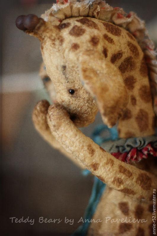 Мишки Тедди ручной работы. Ярмарка Мастеров - ручная работа. Купить Миша. Handmade. Оранжевый, Анна Павельева