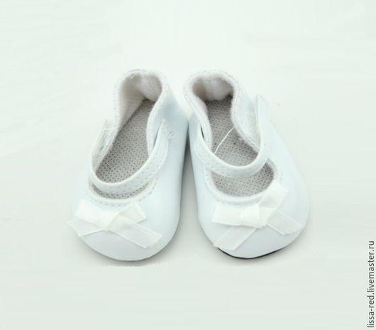 Куклы и игрушки ручной работы. Ярмарка Мастеров - ручная работа. Купить Обувь для кукол. Туфли  длина 7см В НАЛИЧИИ. Handmade.