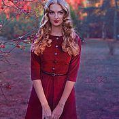 Одежда ручной работы. Ярмарка Мастеров - ручная работа Платье из вельвета 17/1. Handmade.