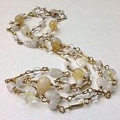 Necklace handmade. Livemaster - original item With pendant